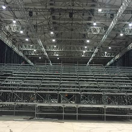 Fast and Temporary Steel Modular Grandstand