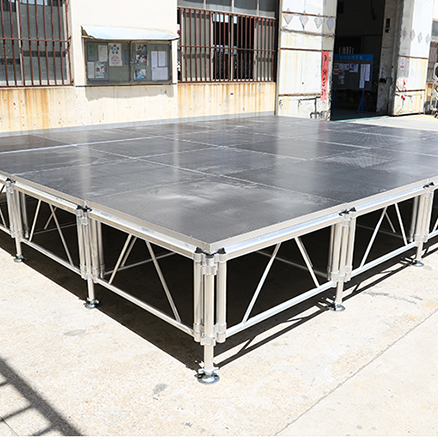 Adjustable Aluminum Portable Stage Platform